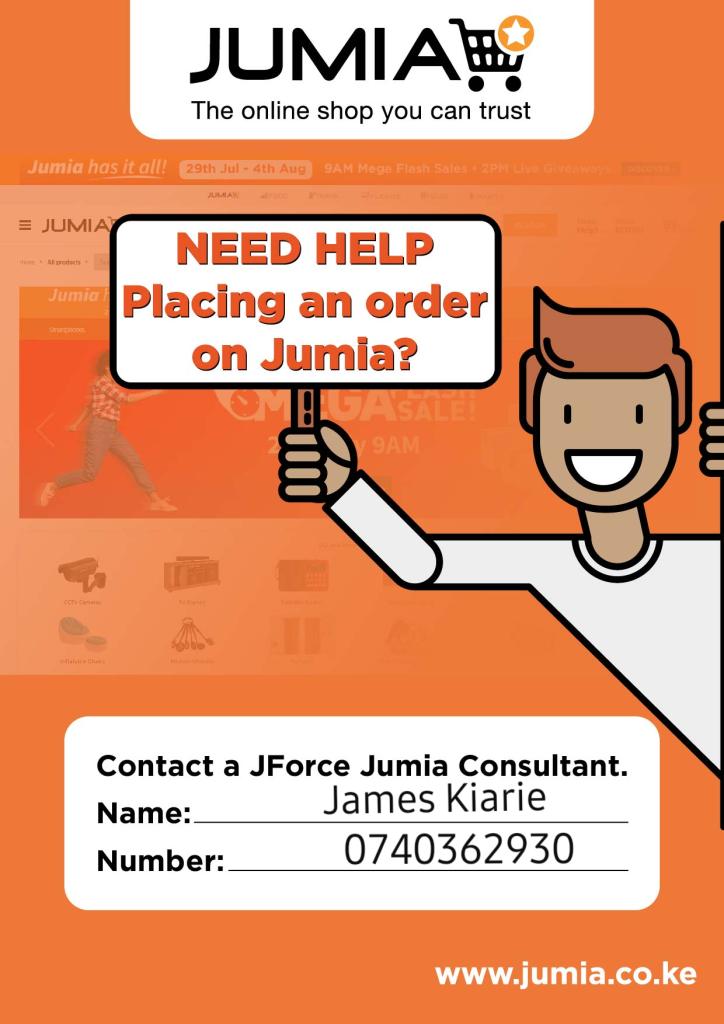 Jumia Kenya Agent call 0740362930 or 0790453958 to order