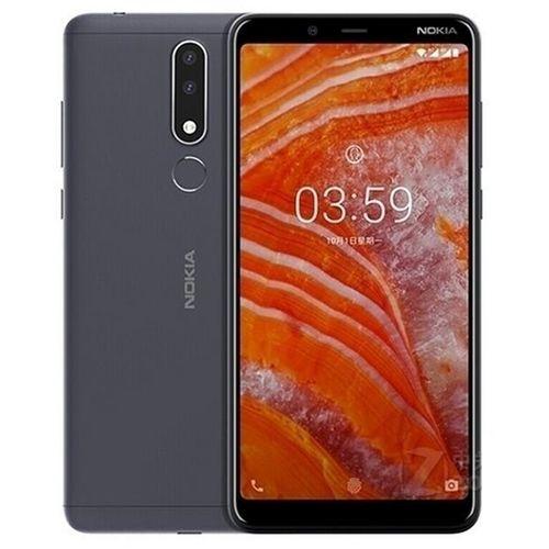 "Nokia 3.1 Plus - 6.0"" (3GB RAM + 32GB ROM) Android 8.1, (13.0MP + 5.0MP) + 8.0MP, 4G LTE - Black"