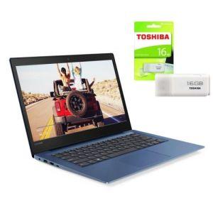 Lenovo S130 Intel Celeron 4GB RAM 500GB HDD + WINDOWS 10 + FREE TOSHIBA 16GB Flash Disk