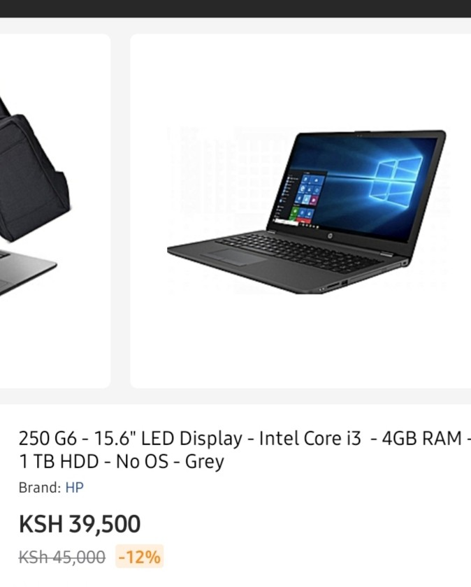Hp 250 G6 specs and prices in Kenya