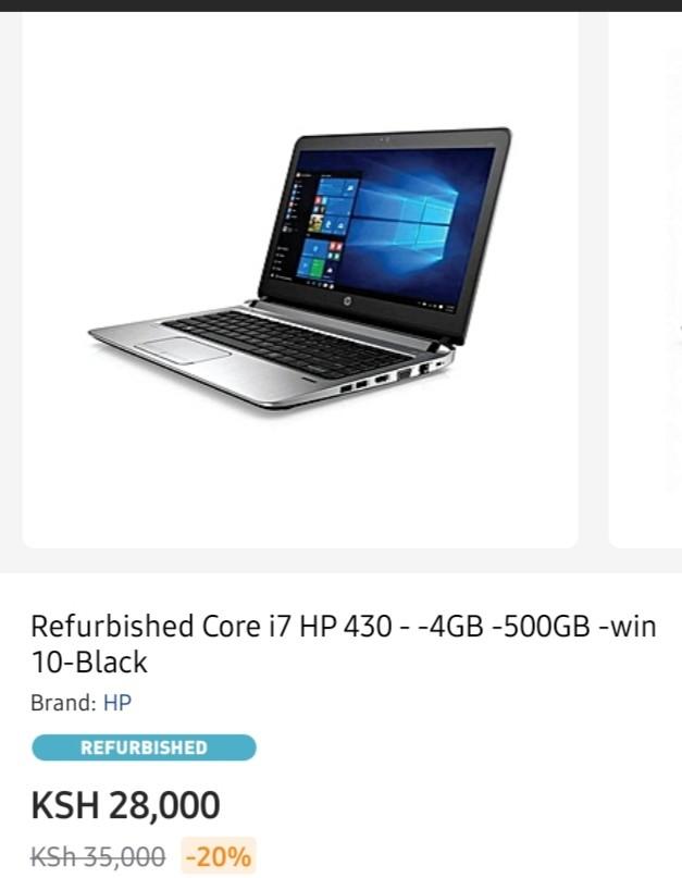 Best Hp laptops in Kenya
