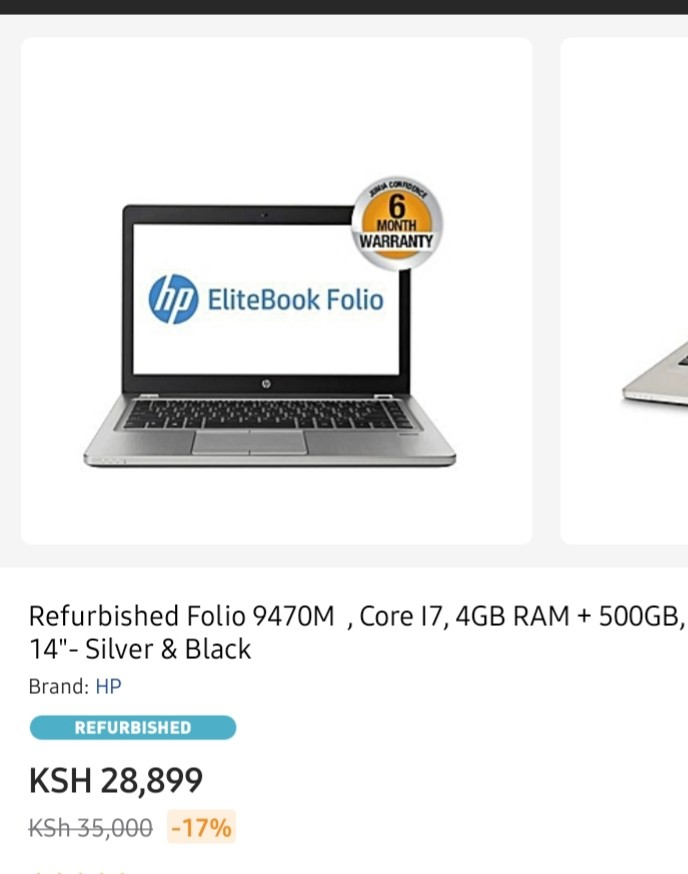 Hp folio 9470m specs  and price in Kenya