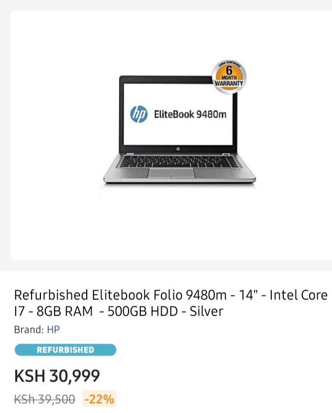 Hp folio 9480m specs and prices in Kenya