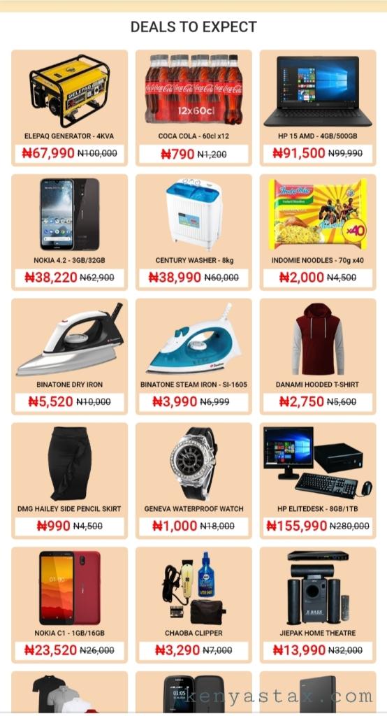 Jumia Nigeria Anniversary sale 2020