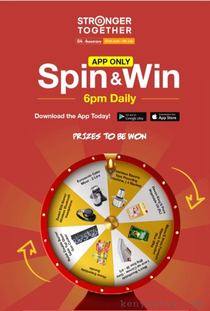 Jumia Spin And Win 2020