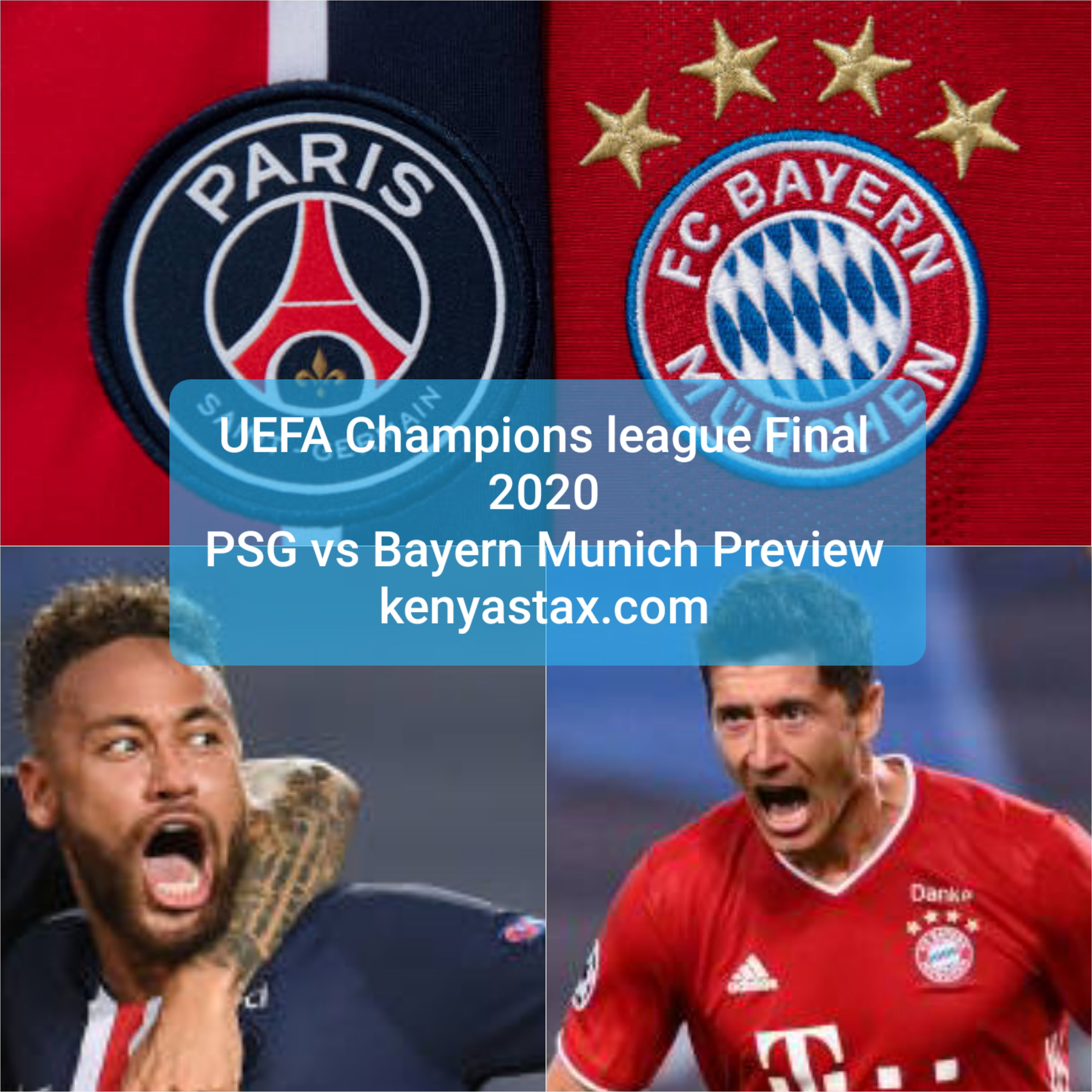 Psg Vs Bayern Munich Uefa Champions League Final 2020 Date Kick Off Time Venue And What Tv Channel Is It On Kenyastax