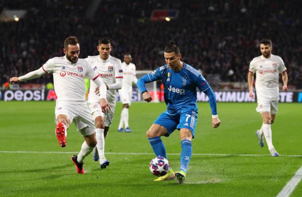 Juventus vs Lyon champions league round of 16