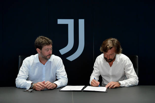 Andrea Pirlo is new Juventus manager